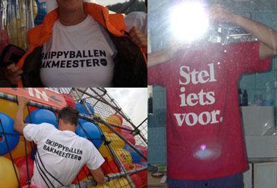 Skippyballenbak, skippyshirt, Circus Engelbregt, Martijn Engelbregt